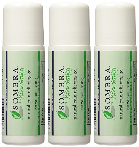 Sombra Natural Pain Relieving Gel- 3 oz. Roll-on - Money Saving 3 pack
