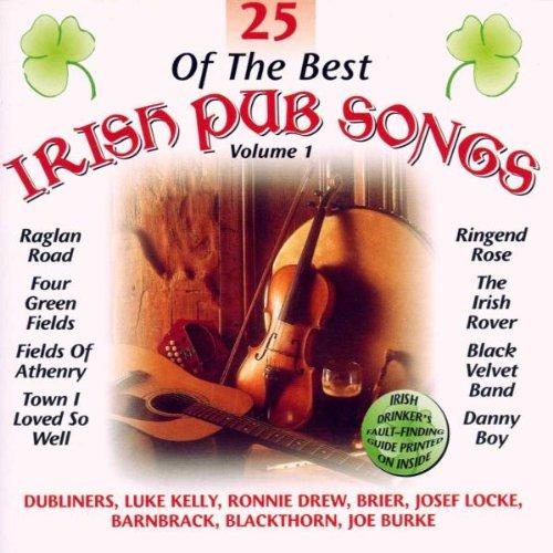 25 of the Best Irish Pub Songs Volume -