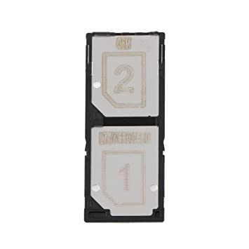 BAISHILONG Flex Cable Bandeja de Tarjeta SIM Dual para Sony ...