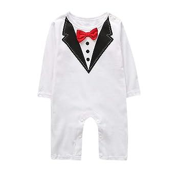 Ropa de bebé Juego, Lans Kirt recién nacidos Niños Mono bebé joven ...