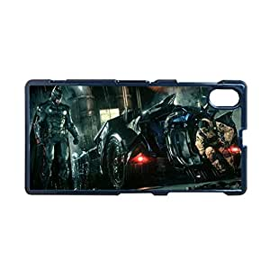 Generic Silica Unique Back Phone Case For Girls Printing Batman And Robin For Sony Xperia Z1 L39H Choose Design 6