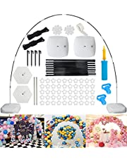 Ballonboog Kit, 9FT Tall & 10Ft Wide Verstelbare Ballon Stand Set, DIY Party Achtergrond Ballon Boog Frame Set voor Verjaardag, Bruiloft, Evenementen, Feestdecoratie, Kerstmis
