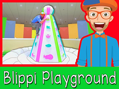 At an Indoor Play Place with Blippi - Learning is fun