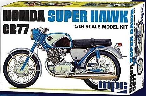 Amazon.com: MPC Honda Super Hawk Model Kit: Toys & Games