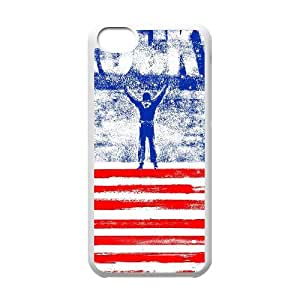 Iphone 5C 2D Personalized Phone Back Case with Rocky Image