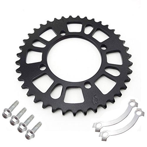 XLJOY 76mm 39 Tooth Rear Drive Sprocket for 420 Chain Pit Dirt Bike SSR Taotao Coolster ()