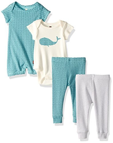 Tea Collection Baby Boys' Whalewatcher Set, Multi, New Born (Clothes Tea Collection)