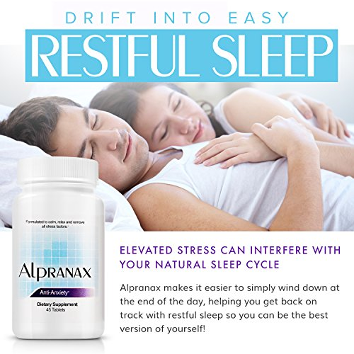 Avinol PM Bundle with Alpranax - Natural Sleep Aid with Melatonin and 5-HTP + Herbal Relaxation and Stress Relief Supplement - Reduce Stress and Get Deep Restful Sleep - (2 Items) by Avinol PM and Alpranax (Image #2)