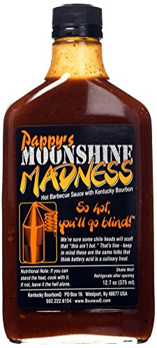 (Bourbon Q, Barbecue Sauce Pappys Moon Shine Madness, 12.7 Ounce)