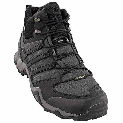 adidas outdoor Mens Terrex Swift R Mid Shoe Dark Grey, Black, Granite