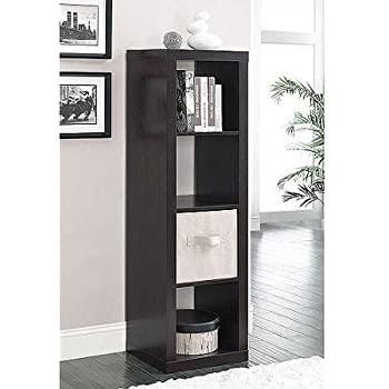 Better Homes And Gardens 3 Cube Organizer Storage Bookshelf Espresso Kitchen Dining