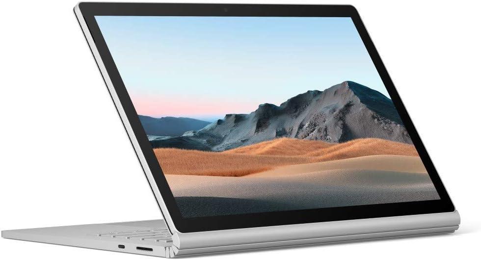 Microsoft Surface Book 3 (SKR-00001) | 13.3in (3000 x 2000) Touch-Screen | Intel Core i5 Processor | 8GB RAM | 25GB SSD Storage