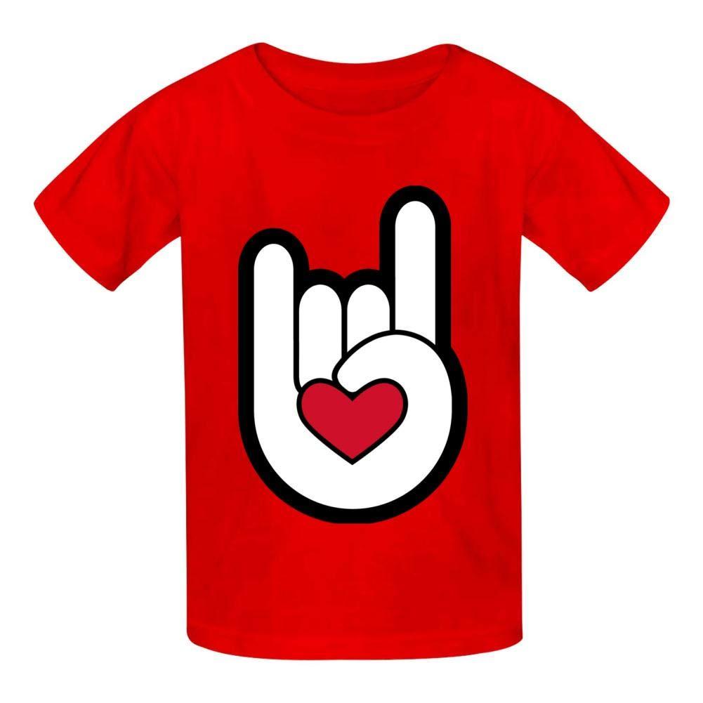 Gustavo Ma Music Festival Childrens Boy 100/% Cotton Print Short Sleeve T-Shirt