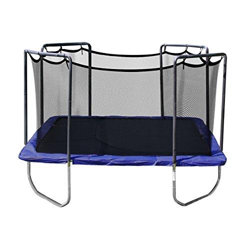 Safest Top Rated Trampolines: Skywalker Trampolines Square Trampoline With Enclosure