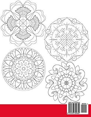 Mandalas for Kids: Mandala Coloring Book for Kids: 25