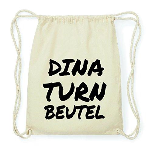 JOllify DINA Hipster Turnbeutel Tasche Rucksack aus Baumwolle - Farbe: natur Design: Turnbeutel