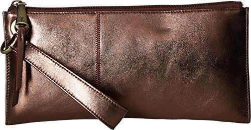 Bronze Wallet - Hobo Womens Leather Vintage Vida Clutch Wallet (Burnt Bronze)