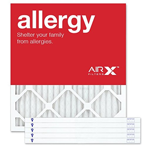 AIRx Filters Allergy 19x21x1 Air Filter MERV 11 AC Furnace Pleated Air Filter Replacement Box of 12, Made in the USA