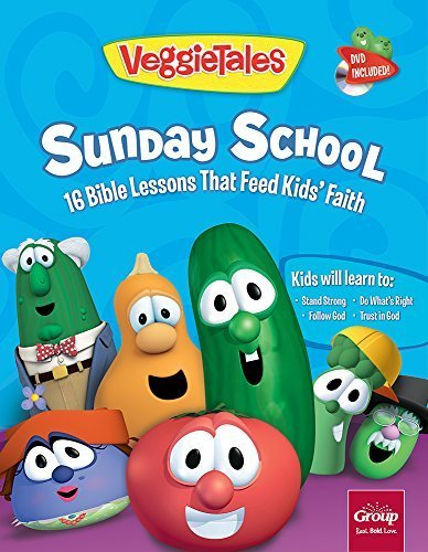 VeggieTales Sunday School Volume 1: 16 Bible Lessons That Feed KidsÂ' Faith by Group Publishing (July 14, 2015) Paperback ()