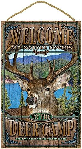(SJT96303) Deer Camp Welcome 10