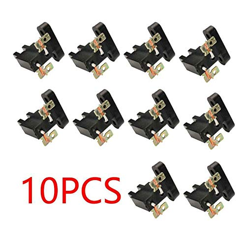 New 10 PCS Universal Carbon Brush for Powermate 4//5//7KW Generator AVR