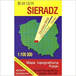 Sieradz Region Map Unknown 9788371350986 Amazon Com Books
