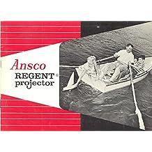 Ansco Regent Slide Projector Original Instruction Manual