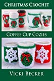 Crochet these quick and easy Christmas coffee cup cozies for yourself or to give as a gift.  The coffee cozies can be made up in less than an hour and make great last minute gifts.  Cheerful and bright in colorful Christmas colors or make the...