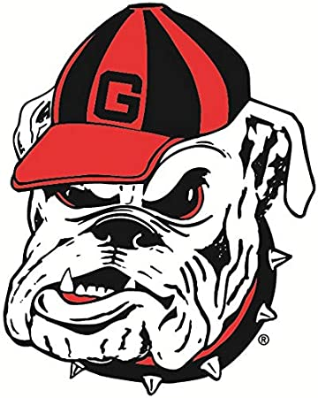 Georgia Bulldogs NCAA Logo Vinyl Decal Sticker