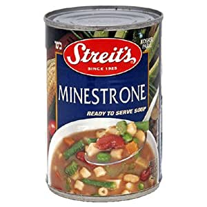 Amazon.com : Streit's Canned Soup, Minestrone, 15-Ounce ...