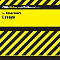 Emerson's Essays: CliffsNotes Audiobook by Charles W. Mignon Narrated by Luke Daniels