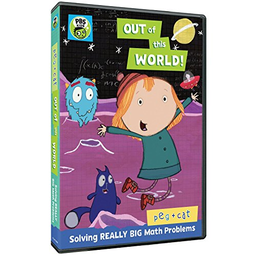 - Peg + Cat: Out of this World DVD