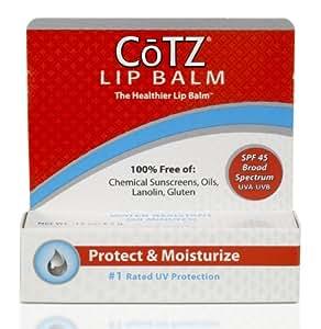 Cotz Lip Spf 45, .14 Ounce