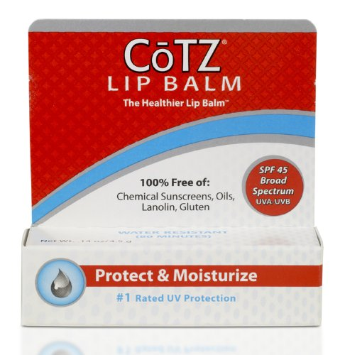 Price comparison product image Cotz Lip Spf 45, .14 Ounce