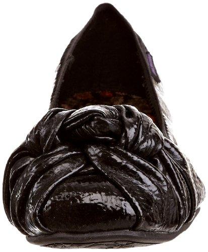 Black Nero Crinkle donna Schwarz Amery Rocket Dog Ballerine Patent nqwpYWHI