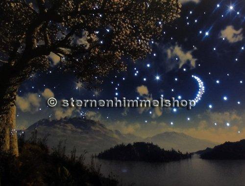 Kit cielo stellato led fibre ottiche bianche con telecomando