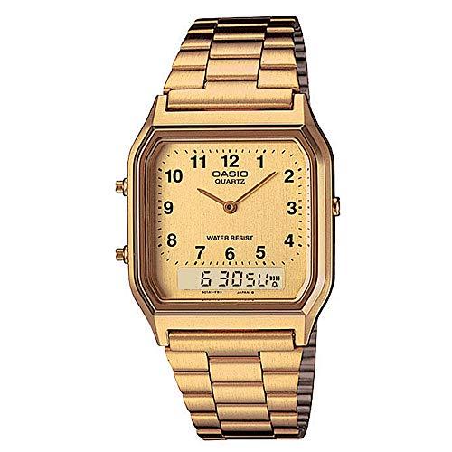 Casio Unisex AQ230GA-9BVT Watch Gold