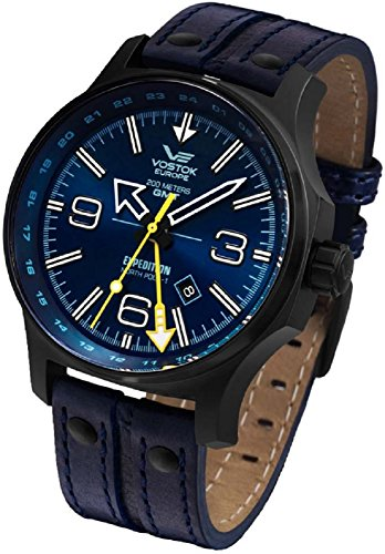 Vostok Europe Expedition North Pole 1 Dual Time 515.24H/595C503