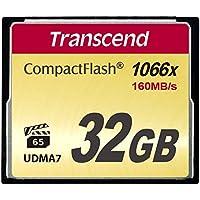 Transcend 32GB CompactFlash Memory Card 1000x (TS32GCF1000)