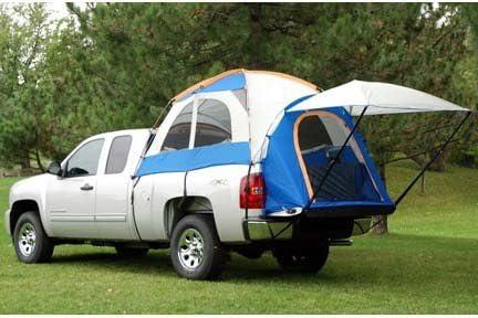 Napier Enterprises Sportz Truck Tent III for Full Size Crew Cab Trucks For Toyota Tundra Model