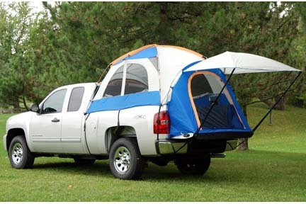 Sportz Truck Tent III with Mid Size Quad Cab Trucks (for Toyota Tacoma Model)