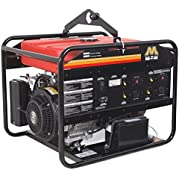 Mi-T-M GEN-8000-0MS0 Gasoline Generator, 8000W Maximum AC Output