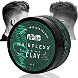 Hair Clay for Men Styling Product, Matte Finish Molding Hair Wax 2.8...