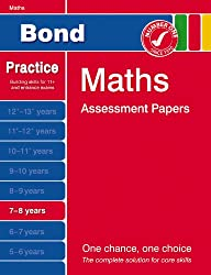 Bond First Papers in Maths 7-8 years New Edition (Bond Assessment Papers)