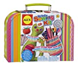 The Alex Toys My First Sewing Kit will introduce children to the creative world of sewing. It's a skill that lasts a lifetime and can be used to make adorable stuffed animals,notebook covers and more. All the materials you need come in the ch...