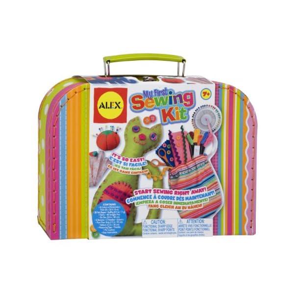 51HuKmXCIxL. SS600  - Alex Craft My First Sewing Kit Kids Art and Craft Activity