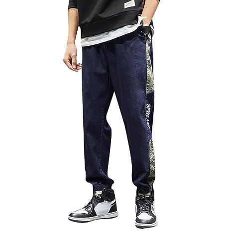 YKARITIANNA pantalones vaqueros holgados con cintura ...