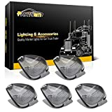2002 f250 cab lights - Partsam 5x Smoke Cab Marker Light Clearance Light Lens Covers For Ford F-150 F-250 F-350 F-450 F-550 Super Duty 1999 - 2016