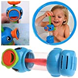 Amrka Baby Bath Water Toys Sea Horse Sprinkler Pumping Hippocampal Shape Plastic Toy
