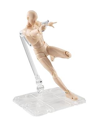 Flexible Male Artist Mannequin Action Figure Body-kun Original by Bandai review